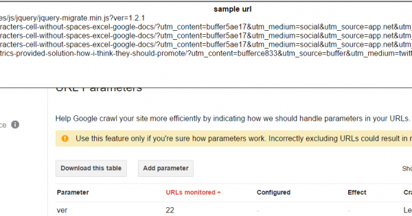 How to Bulk extract Search Console URL parameters [Script]
