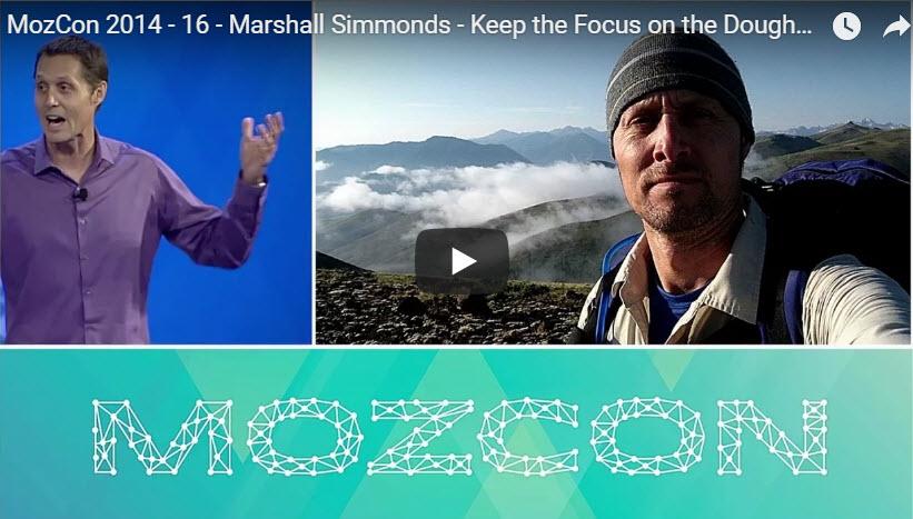 Marshall Simmonds 2014 MozCon Presentation